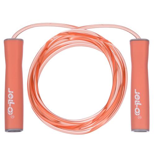 Скакалка скоростная U-Power Jello Fitness (Peach)