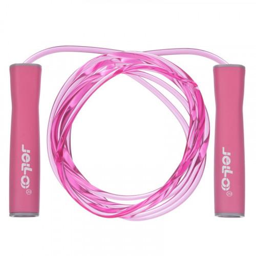 Скакалка скоростная U-Power Jello Fitness (Pink)